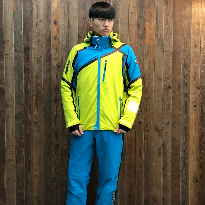 온요네 스키복 ONYONE DEMO OUTER  JK + PT(LIME) (18/19)