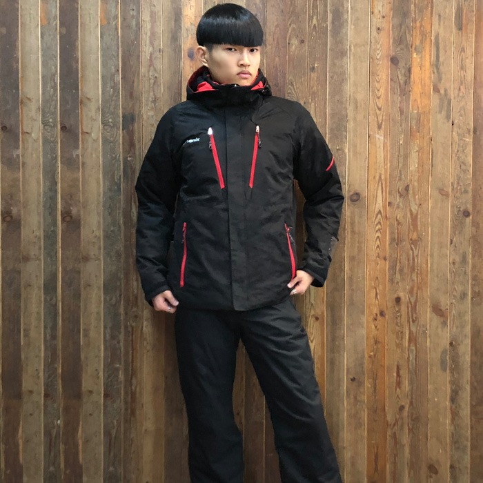 피닉스 스키복 PHENIX Snow Marble Two Piece(BK) (18/19)