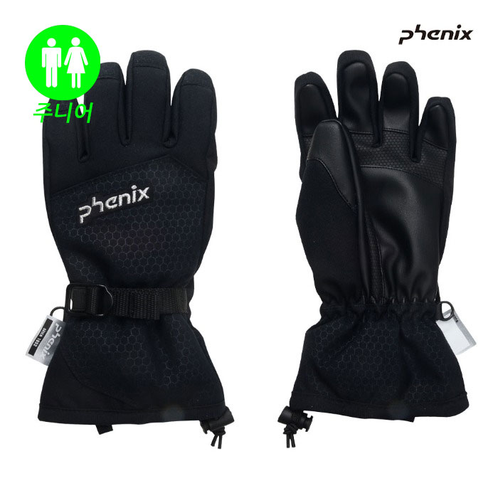 피닉스 주니어 스키장갑 PHENIX Demonstration  Boy's Gloves(BK) (19/20)