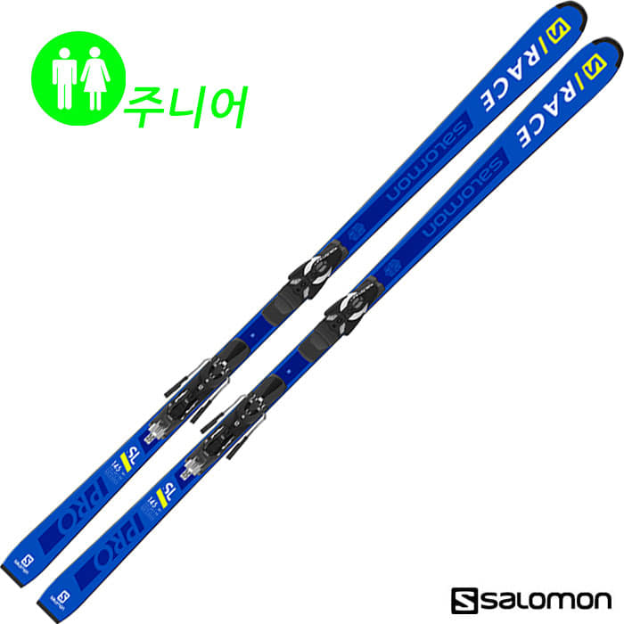 살로몬 주니어 스키 SALOMON S/RACE PRO JR SL + JR RACE PLATE + Z10 (18/19)