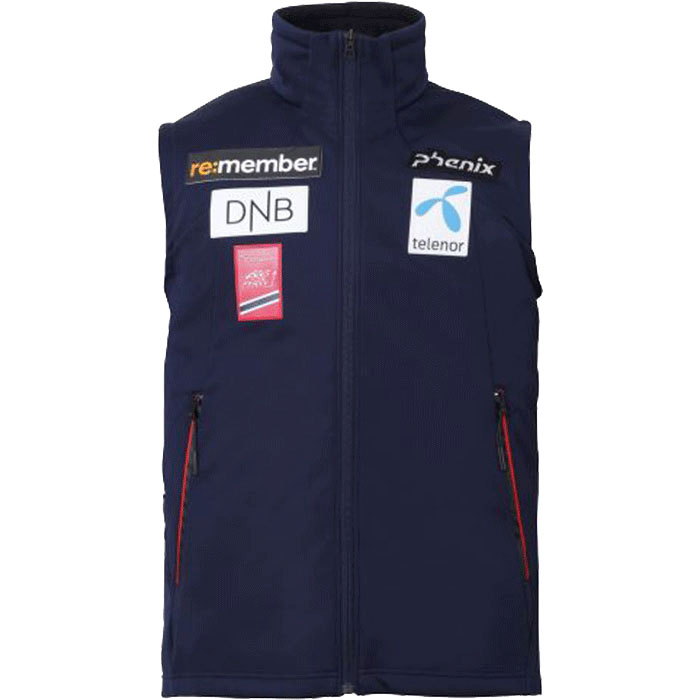 피닉스 스키복 미들러 PHENIX Norway Fomula Softshell Vest (DN1) (18/19)