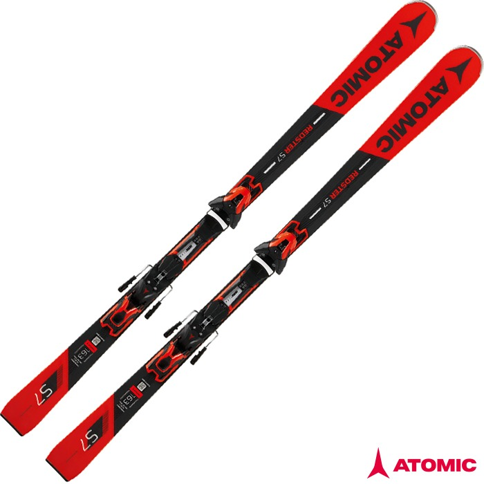 아토믹 스키 ATOMIC REDSTER S7 + E FT 12 GW Bk/Red (18/19)