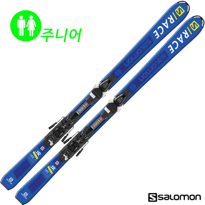 살로몬 스키 SALOMON S/RACE JR M + L7 (18/19)