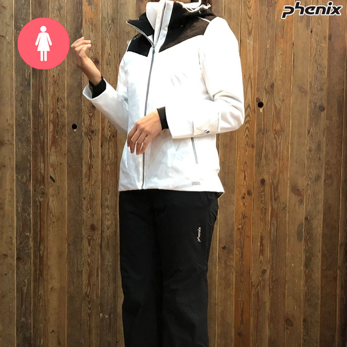 피닉스 여성 스키복 PHENIX Bi-Color Snow Marble W`s Two Piece(WT)(18/19)