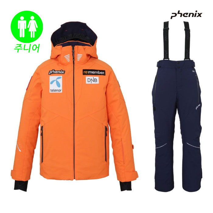 피닉스 주니어 스키복 PHENIX Norway Alpine Team Jr (OR) (19/20)